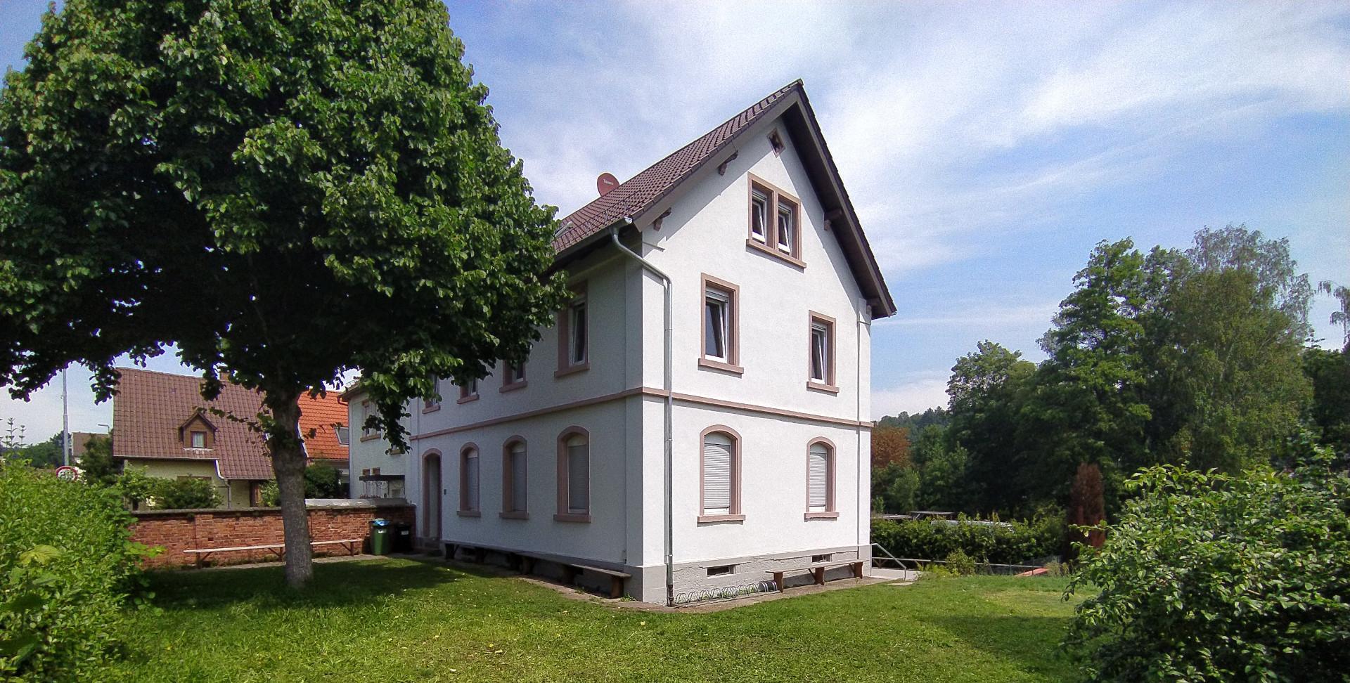 Ansichtsbild des Jugendhauses in Kleinsteinbach